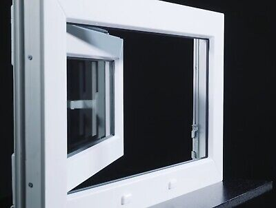 Kellerfenster Kunststoff Fenster 2 3 verglast Weiß Anthrazit Lager - ALLE GRÖßEN 6