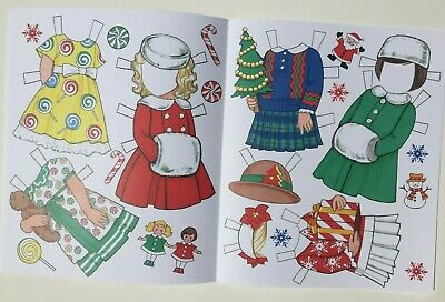 *NEW!* CANDY CANE CHRISTMAS Paper Dolls - Super cute! By Eileen Rudisill Miller 4