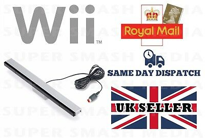 Sensor Bar For Nintendo Wii & Wii U With Stand Wired Infrared Receiver - New 2