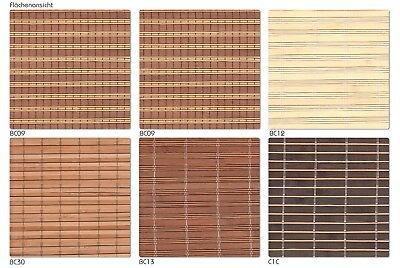 Beliebt BAMBUSROLLO NRU NACH Maß mit Blende - Rollo aus Bambus geölt für YH27