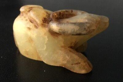 Chinese Carved Jade - Sitting Buffalo 8