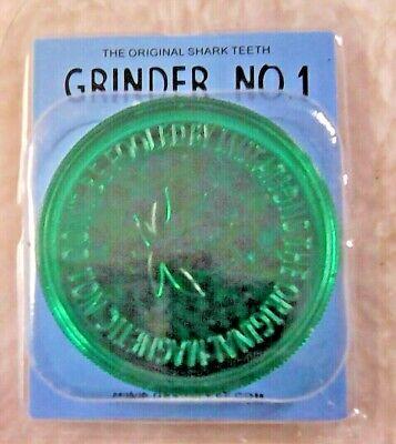 3 PART 60mm NON-MAGNETIC GRASSLEAF No 1 GRINDER FOR GRINDING HERB/GRASS 5