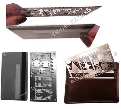 EDC 6 In1 Hostage Escape Survival Card Tool FREE DELIVERY