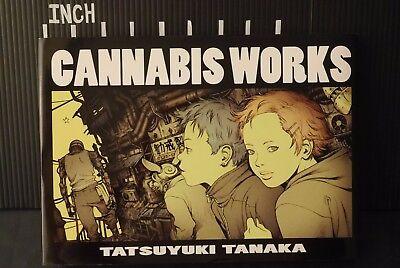 Cannabis Tatsuyuki Tanaka Linda Cube Illustrations Japan Book