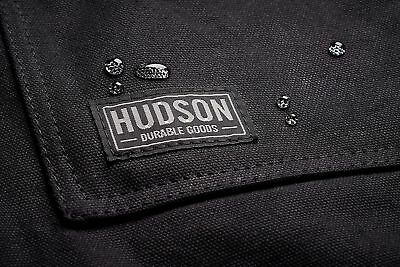 Hudson Durable Goods - Waxed Canvas Work Apron - 16 oz  [BRAND DIRECT]