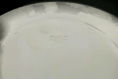 Tiffany & Co Makers Sterling Silver Bread & Butter Plate 20198 3