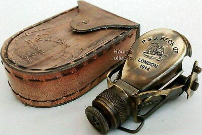 Antique maritime brass monocular binocular spyglass scope good gift item