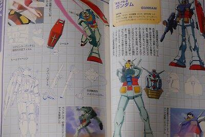 "JAPAN Dengeki Data Collection /""Mobile Suit Victory Gundam/"" Book"
