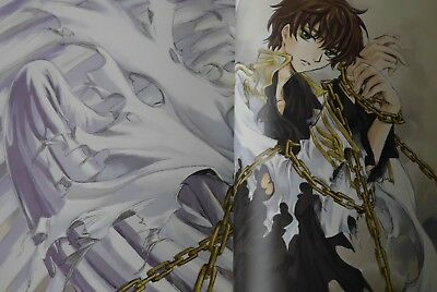 Mutuality:CLAMP Works in Code Geass Art Guide Book Japanese Book Japan