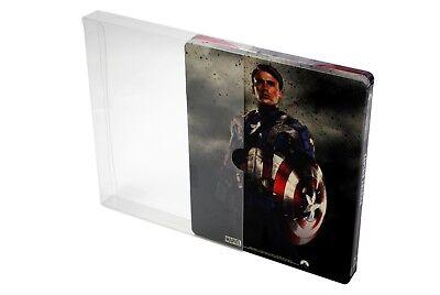 SC2 Blu-ray Steelbook Protective Slipcovers / Sleeves / Protectors (Pack of 50)