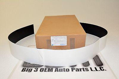 2 Chevy GMC Fuel Tank Strap Insulator Pad Anti Squeak Adhesive Strip OEM New GM