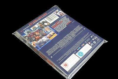 SW1 Premium Blu-ray/DVD Steelbook Protective Wraps / Sleeves (Pack of 100) 6