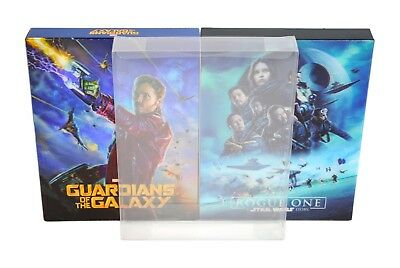 SCF4 Blu-ray Steelbook Fullslip Protectors (New Size) (Pack of 10) 2