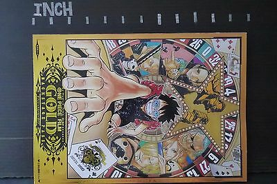 JAPAN One Piece Film Gold Official Movie Guide Backstage Pass Book