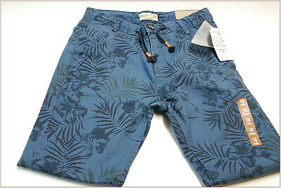 Zara boys trousers blue jeans print size 9-10 years 140 cm new clothes 4