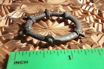 Greek Scythian Bronze With Spikes Big Amulet-Symbol of Fertil 7-4 th Century BC