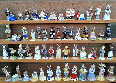 Royal Doulton Bunnykins Figurine Selection - All Boxed. 2