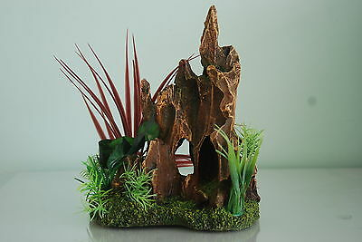 Aquarium Detailed Stump Pinnacle Rock Garden 17 x 12 x 21 cms For All Aquariums 2