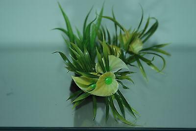 Aquarium Plastic Lotus Style Bunch Plant 12 inch High Suitable for all Aquariums 3