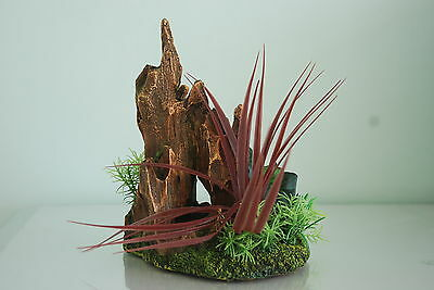 Aquarium Detailed Stump Pinnacle Rock Garden 17 x 12 x 21 cms For All Aquariums 3