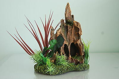 Aquarium Detailed Stump Pinnacle Rock Garden 17 x 12 x 21 cms For All Aquariums 4