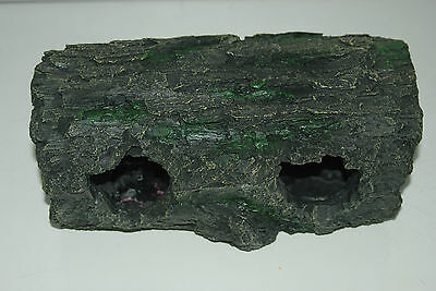 Detailed Large Aquarium Cichlid Hollow Root Log Decoration 28 x 14 x 13 cms 12