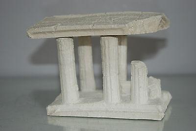 Aquarium Medium Greek Temple Ruin With Columns Decoration 16 x 12 x 12 cms 4