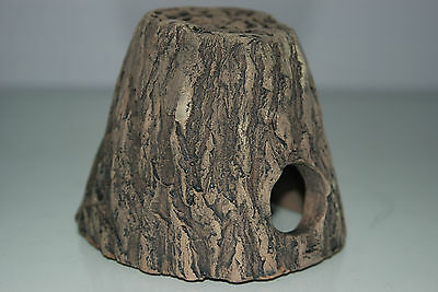 Aquarium Ceramic  Medium Cichlid Hide 13 x 12 x10 small For Loaches & Small Fish