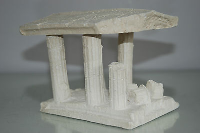 Aquarium Medium Greek Temple Ruin With Columns Decoration 16 x 12 x 12 cms 3