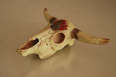 Aquarium Decoration Longhorn Skull 8 x 11 x 3.5 Suitable For All Reptile Tanks 5