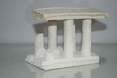 Aquarium Medium Greek Temple Ruin With Columns Decoration 16 x 12 x 12 cms 5