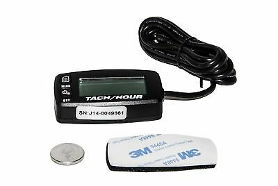 Tach Hour Meter tachometer RPM display motorcycle atv dirtbike buggy outboard cr
