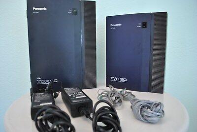 Panasonic Business Phone KX-TVA50, TDA-50, KX-DT333 Black 8pcs, KX-DT 343 1pcs 2