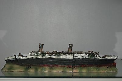 Stunning Aquarium Detailed Medium Titanic 40 x 6 x 9 cms For All Aquariums 7