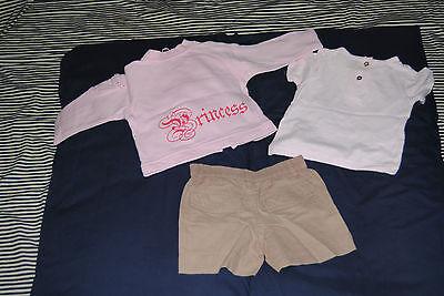 lotto abbigliamento bambina 9/12 mesi BENETTON BRUMS MAGNOLIA... 5