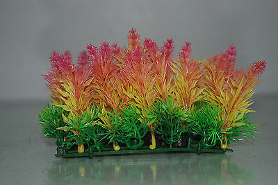 Aquarium Coloured Plant Mat 14 x 5 x 9 cms Suitable For All Aquariums 4