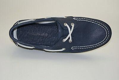 TIMBERLAND CLASSIC 2 EYE Boat Shoes Segelschuhe Deckschuhe Herren Schuhe A1FHU
