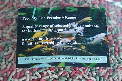Koi Carp FMF Mixed Pond Food Sticks 3kg Sack 3