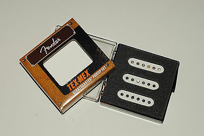 Fender Tex Mex Strat Pickup Set Texas Stratocaster Jimmie Vaughan Special ~ New! 7