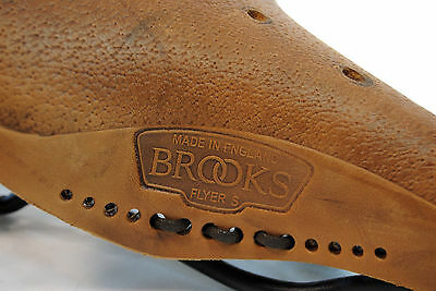 9c013b37f7d BROOKS FLYER S Pre-aged Brown Laced Women's Saddle - $102.83   PicClick