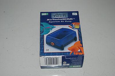 Air Tech Aquarium Air Pump Single Outlet 90 ltrs Per Hour Bargain Price 5