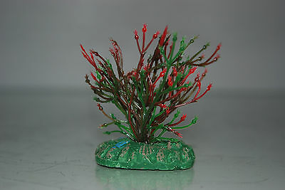 Aquarium Small Nano Plants x 2 Green & Green / Red approx 4 cms 4