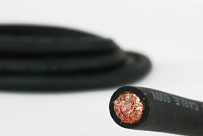 TEMCo 2 Gauge AWG Welding Lead & Car Battery Cable Copper Wire | MADE IN USA 6