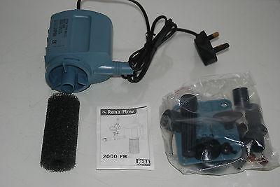 Aquarium Powerhead Power Rena 2000 For All Aquariums 1400 lts per hour 2