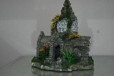 Detailed Aquarium  Anchor Thom Cambodian Ruin 23 x 17 x 25 cms 2