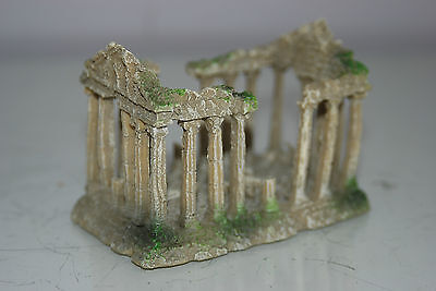 Small Old Roman Temple Greek Ruin Columns Decoration 9.5 x 6 x 6.5 cms 5 • EUR 6,55