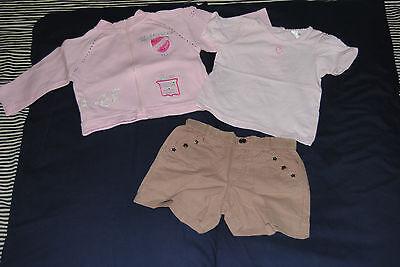 lotto abbigliamento bambina 9/12 mesi BENETTON BRUMS MAGNOLIA... 4