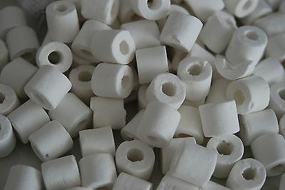 Aquarium Ceramic Rings Filter Media 1 kg Pack Suitable for all Aquarium use 2