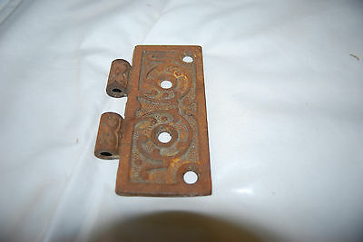 "Antique Cast Iron Assorted Size Hinges & 3.5"" Brass Hinges 6"