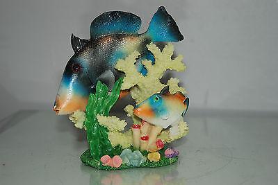 Aquarium Detailed Fish & Coral Base 13.5 x 6 x 14 cms For All Aquariums 2